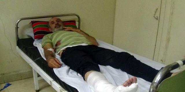 شهيدان أحدهما طفل و5 جرحى جراء اعتداءات إرهابية بالقذائف على مدينة درعا