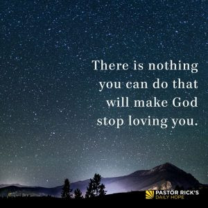 You Are the Object of God's Love by Rick Warren
