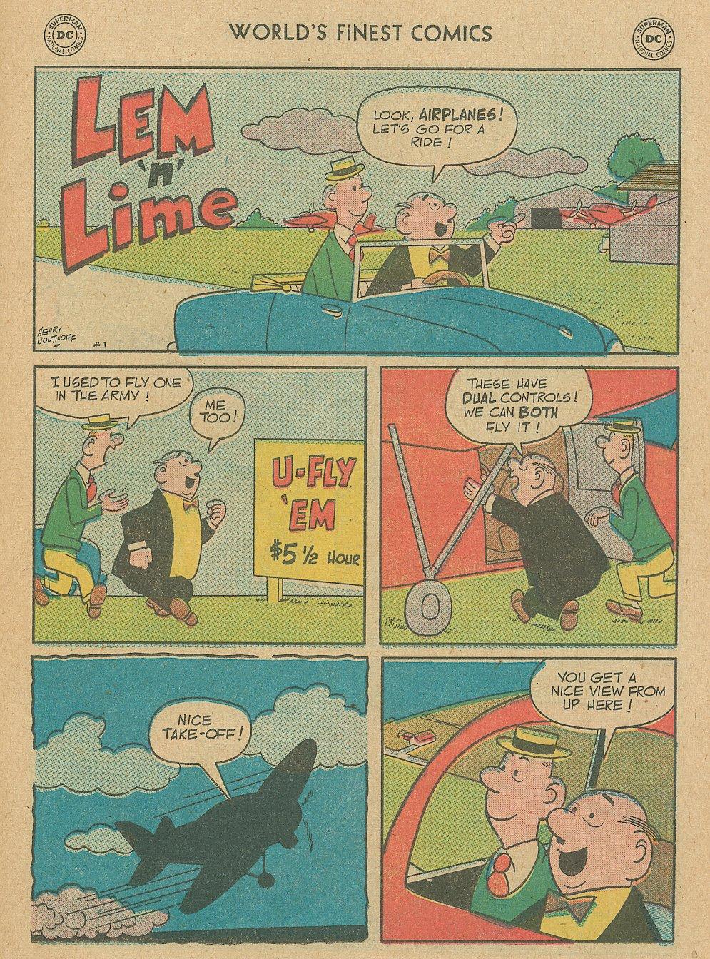 Read online World's Finest Comics comic -  Issue #92 - 11