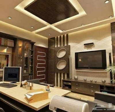 POP false ceiling with LED lighting ideas for living room