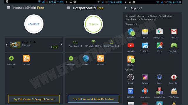 Hotspot Shield Free Screenshots