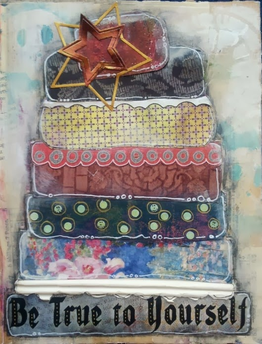 Whoopidooings: Carmen Wing - Mixed Media Cake