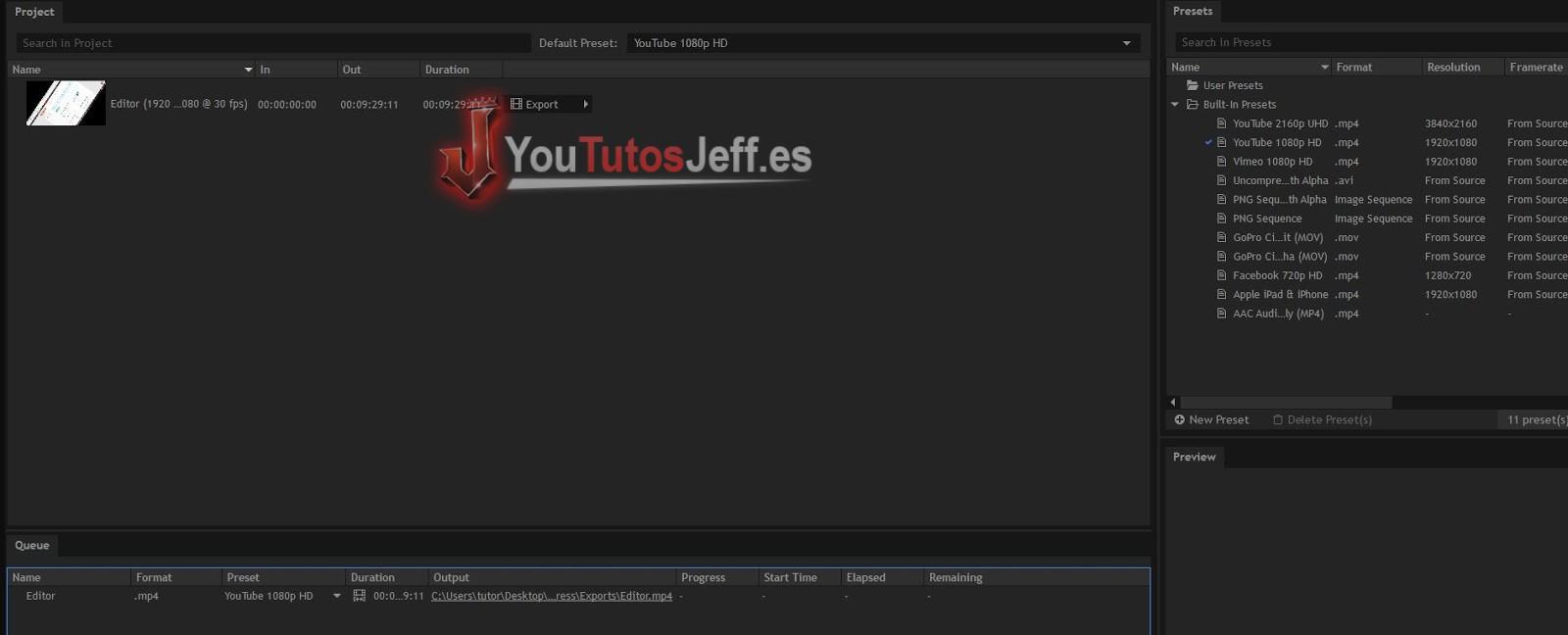 descargar el mejor editor de video para pc