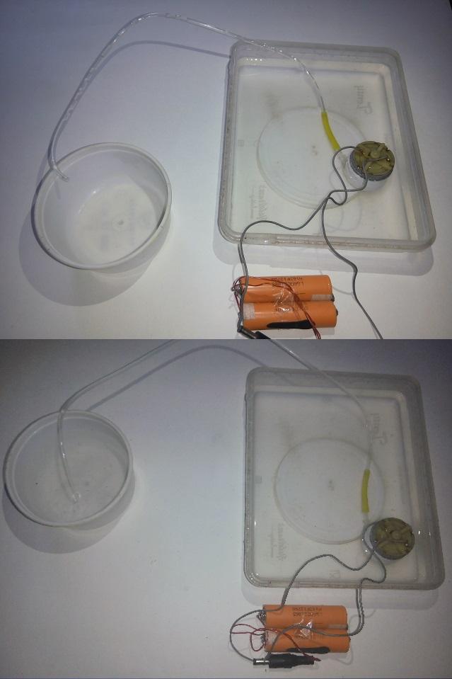 simple mini homemade water pump इसे आप पानी में डुबो सकते है