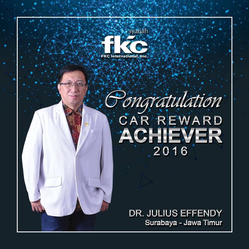 Bisnis Fkc Syariah - Reward DR Julius Efendy