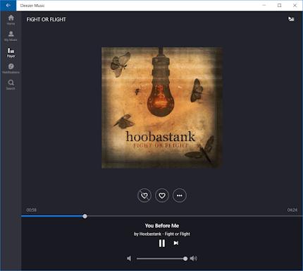 Deezer Music beta for Windows 10