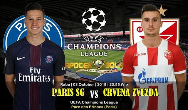 Prediksi Paris SG vs Crvena Zvezda 3 Oktober 2018