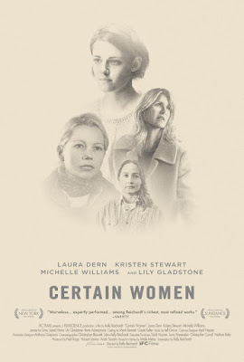 Certain Women 2016 DVD R1 NTSC Sub