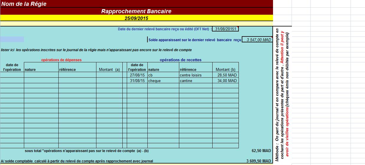 1 - Simple Application Gratuit pour le rapprochement bancaire