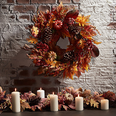 John Lewis Autumn Wreath