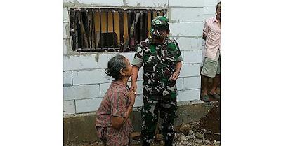''Suwun Pak Tentara, Omahe Nyong Didandani''