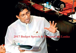 Sri Lanka Budget Proposals Speech via Live Blogging