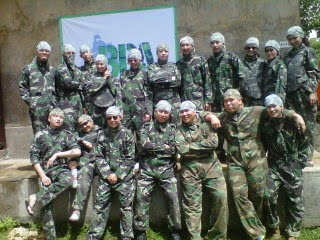 Paint-ball-team-building