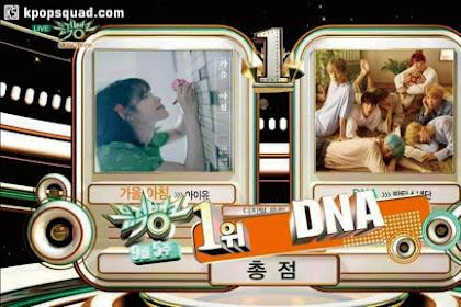 BTS Bawa Pulang Trofi ke-4 Untuk 'DNA'