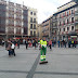 Dispositivo especial de limpieza, por las procesiones de Semana Santa, en marcha en Toledo