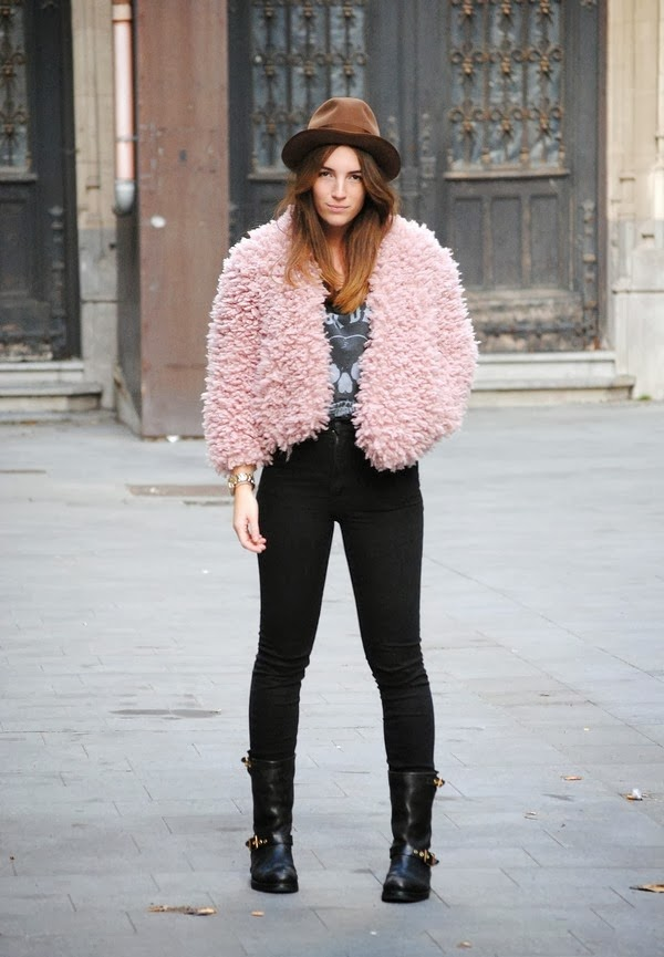 3a58da20d9b I ve got this fluffy one from Antwerp. I never wear pink