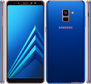 Galaxy A8 Plus (2018) warna biru