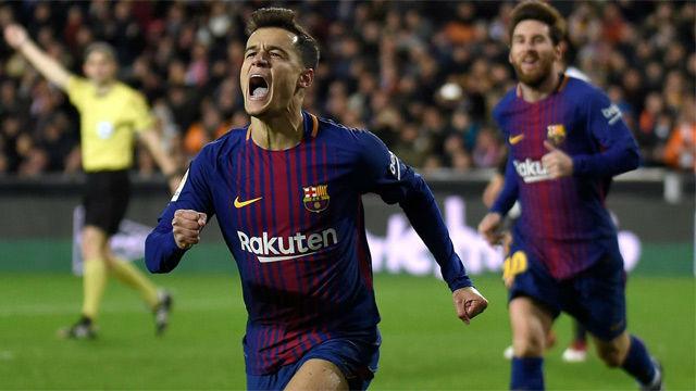Gol Pertama Coutinho Bersama Barcelona