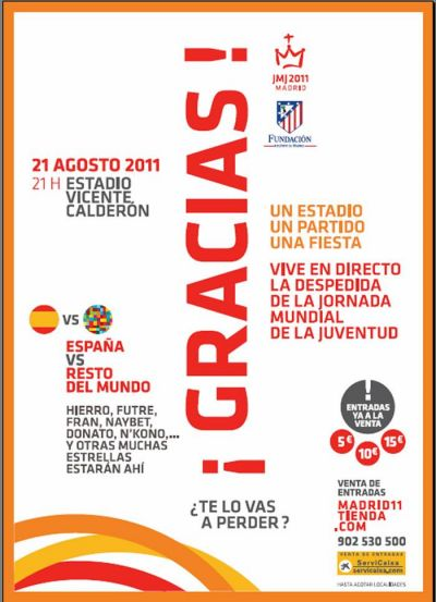 'Fin de fiesta' de la Jornada Mundial de la Juventud Madrid 2011