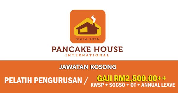 Jawatan Kosong di Pancake House