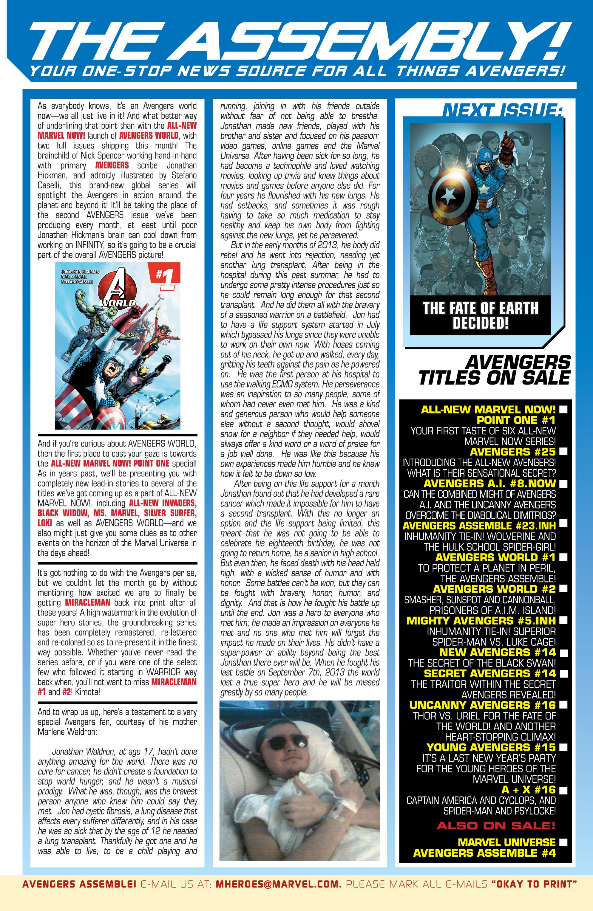 Read online Uncanny Avengers (2012) comic -  Issue #16 - 24