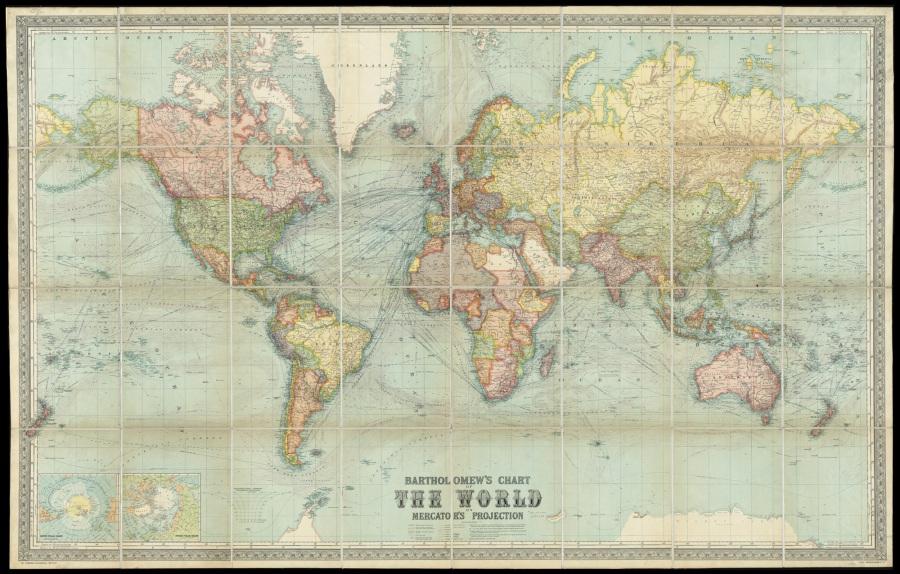La Via della Vita: Terra Piatta: Ancora Le mappe
