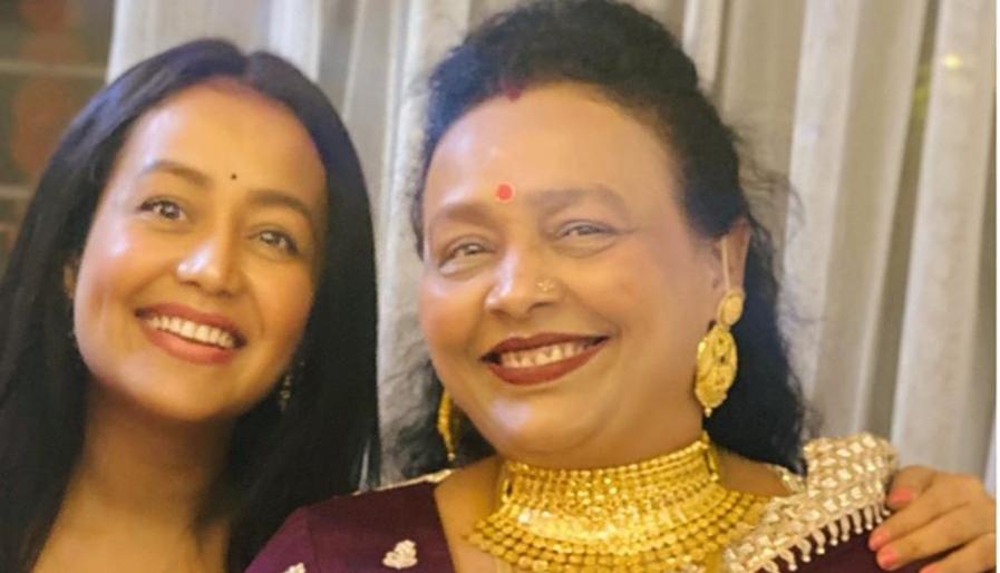Neha Kakkar and Mumma Birthday