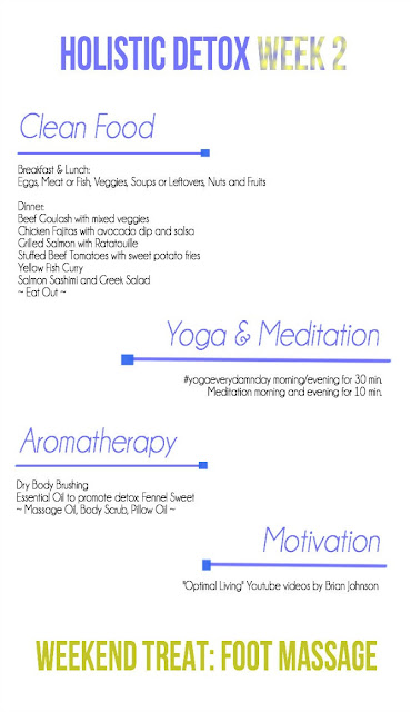 Holistic Detox Week 2