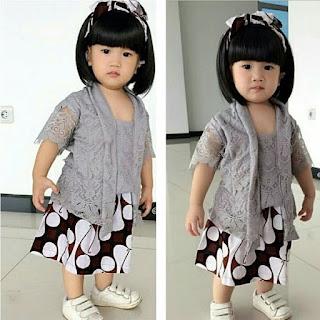 Baju Kebaya Kutubaru Anak