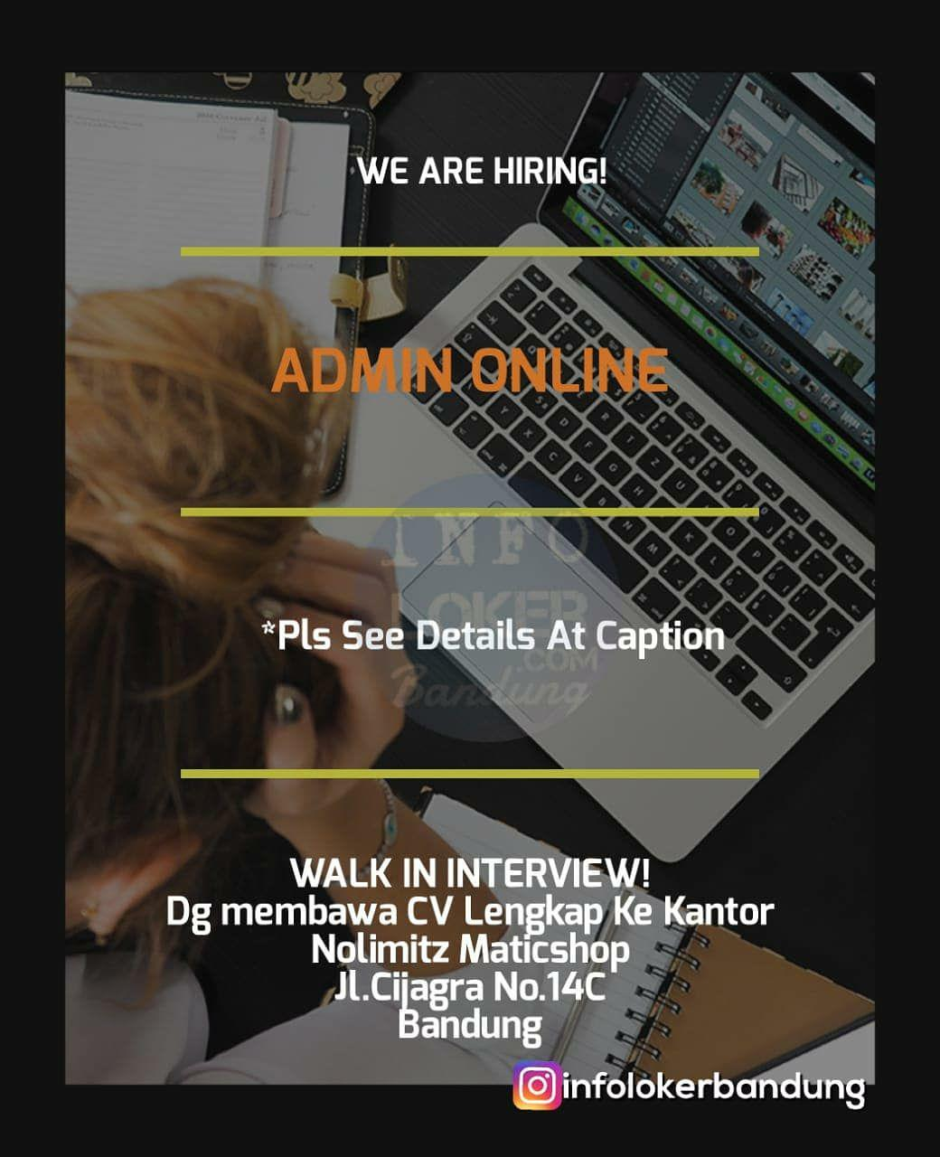 Walk In Interview Nolimitz Matic Shop Bandung September 2018