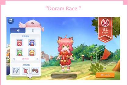 Doram Race dan Lighthazlen Ragnarok Mobile Eternal Love Episode 6.0