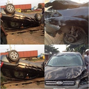 Female Footballer Cynthia Uwak Fortunately Surviveshorrific  Accident... came out without a scratch