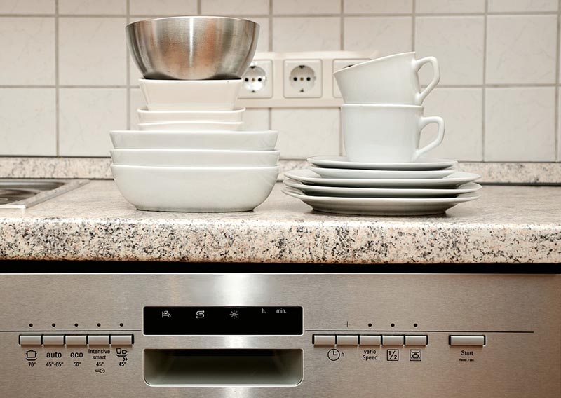 Modern Appliances Help Make Domestic Tasks as Dishwashing More Convenient