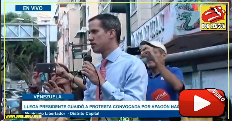 Juan Guaidó promete que MUY PRONTO convocará a marchar hacia Miraflores