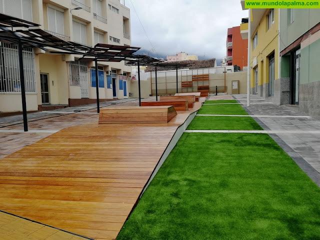 El barrio aridanense de Argual estrena una imagen urbana moderna, accesible y sostenible