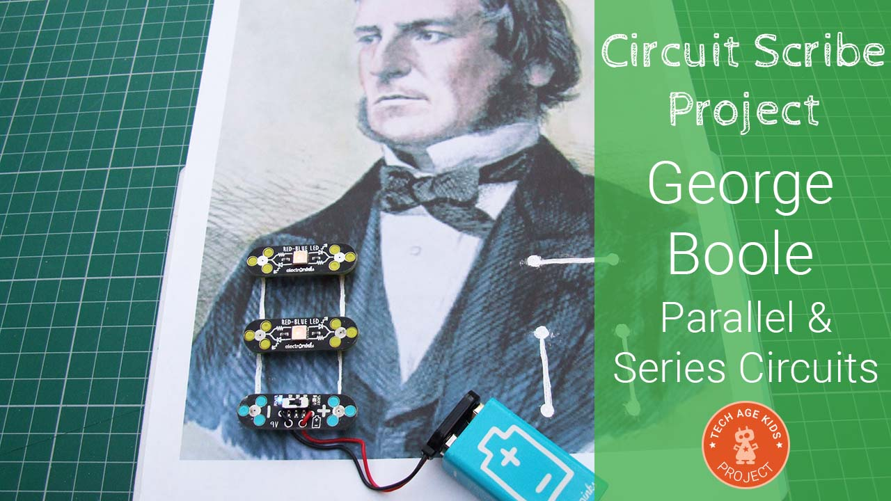 Circuit Scribe Parallel And Series Circuits With George Boole Invention Draw Instantly Conductive