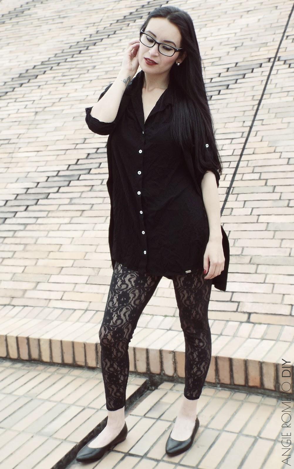 Ideas para vestir (grunge - goth - rock) con prendas negras y layering