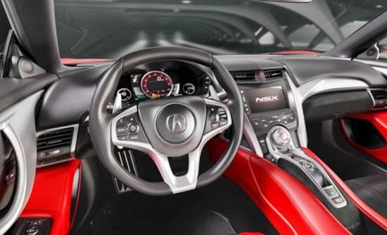 Honda NSX Type R 2018 Interior
