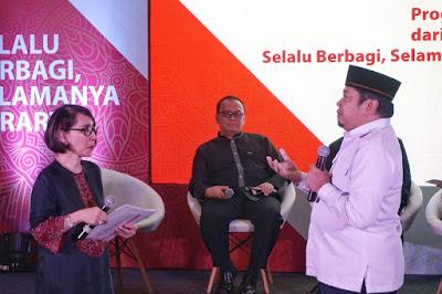 Lembaga Wakaf dari Majelis Ulama Indonesia berafiliasi dengan Prudential Indonesia
