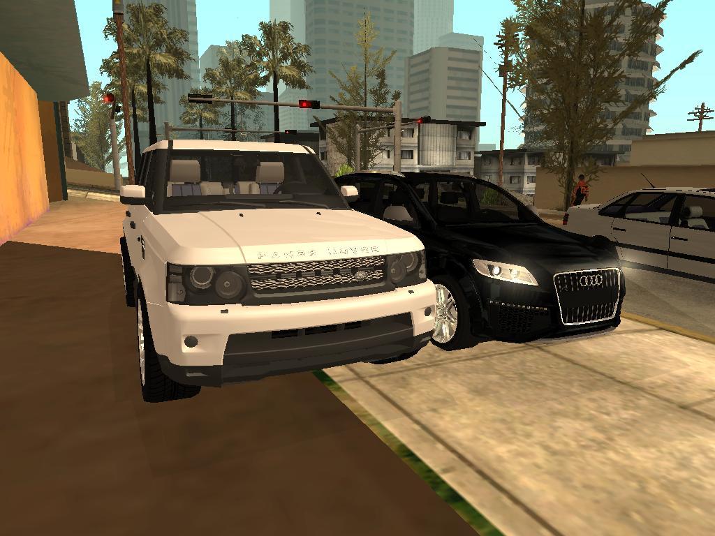 Land Rover Range Rover sport Gta San Andreas mod