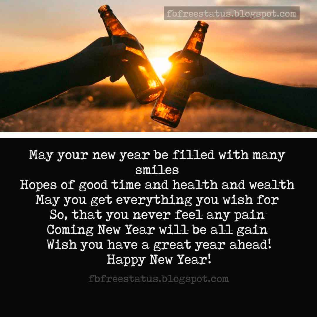 Best wishes for the new year new year wishes sayings