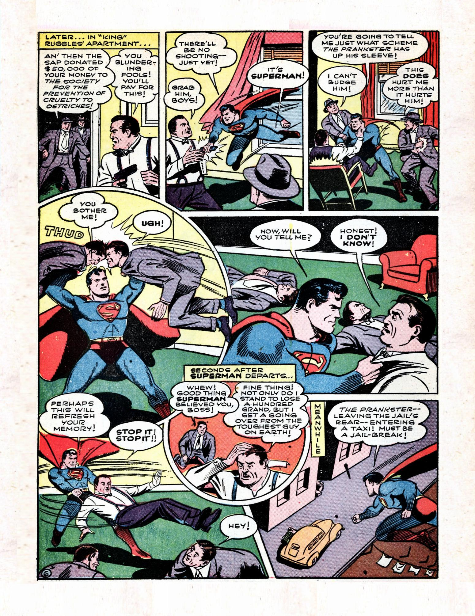 Read online Action Comics (1938) comic -  Issue #57 - 8