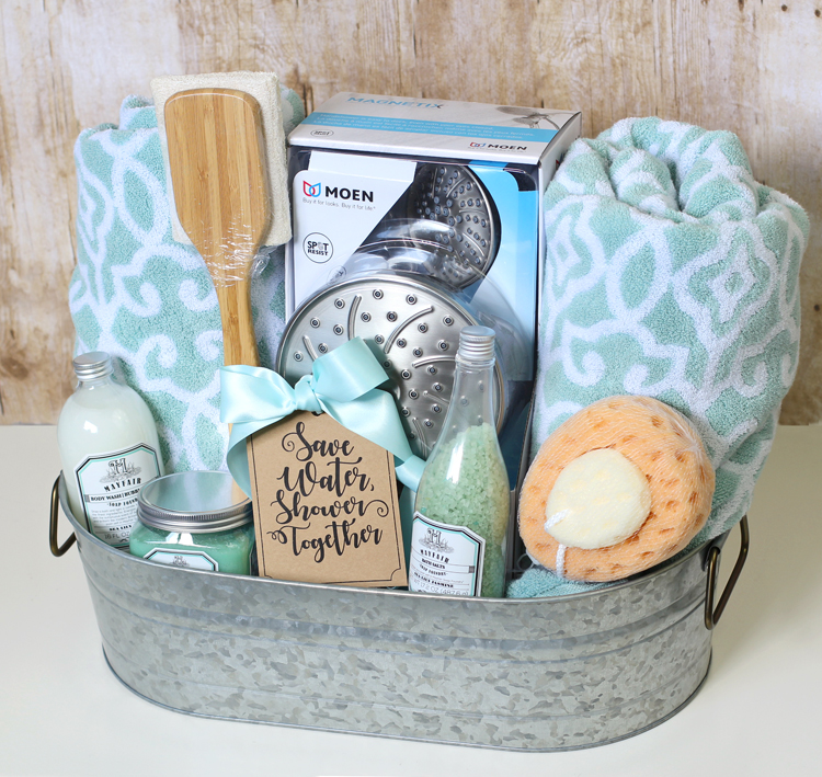 Ideas For Wedding Gift: The Craft Patch: Shower Themed DIY Wedding Gift Basket Idea
