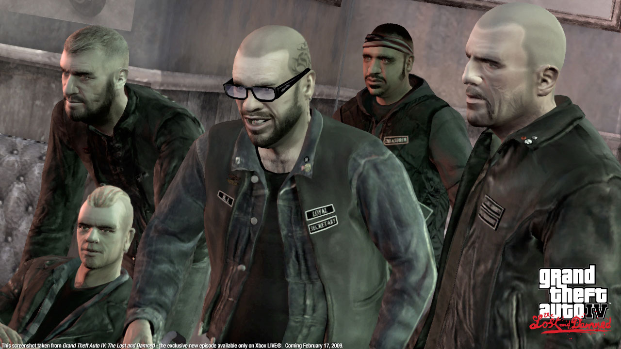 Jds Gaming Blog The Past And Times Of Yore Gta4 The Lost And The