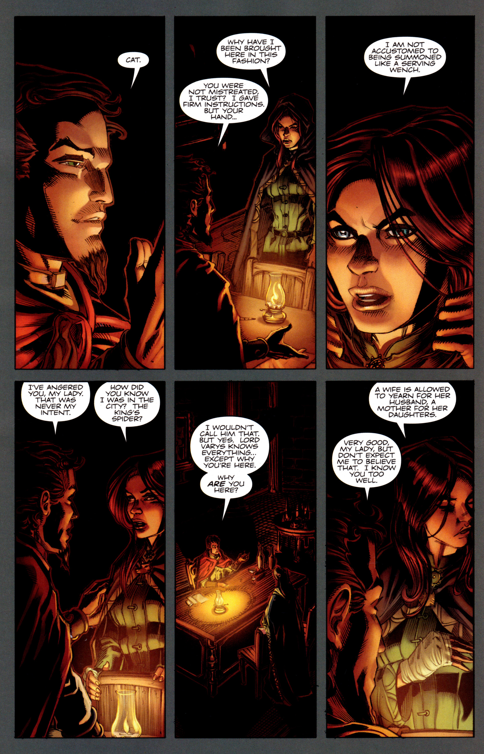 Read online A Game Of Thrones comic -  Issue #5 - 16