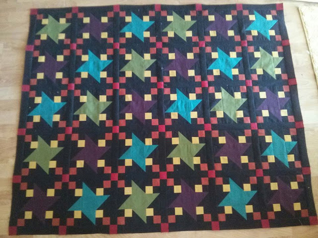 Amanda Patchwork Quilt | Machine Quilting Block Party