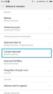 Cara Merubah Tema Google Keyboard Android