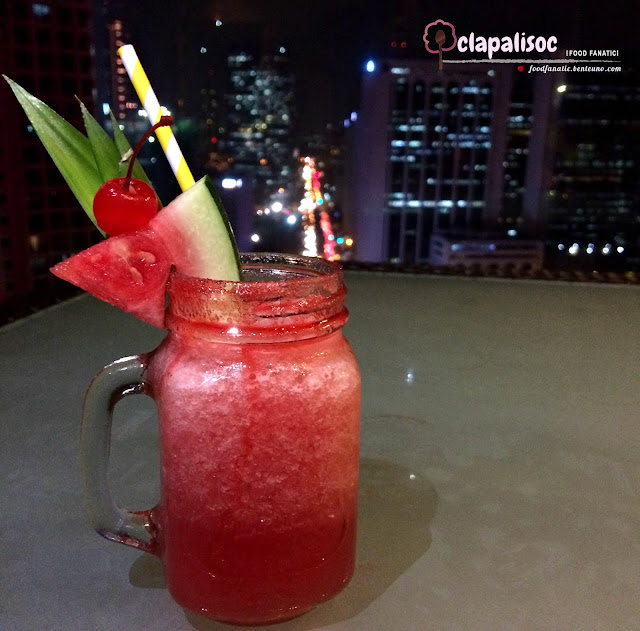 Fresh Watermelon Slush from City Garden Hotel Makati