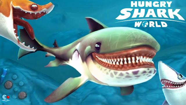 Download Hungry Shark World MOD APK+DATA 0.8.0 ~ GETPCGAMESET