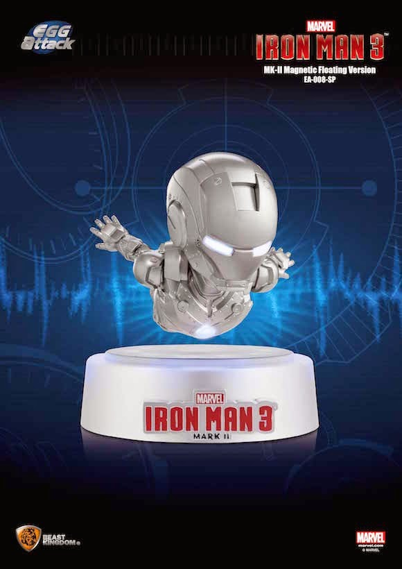 Iron Man Mark II Magnetic Floating